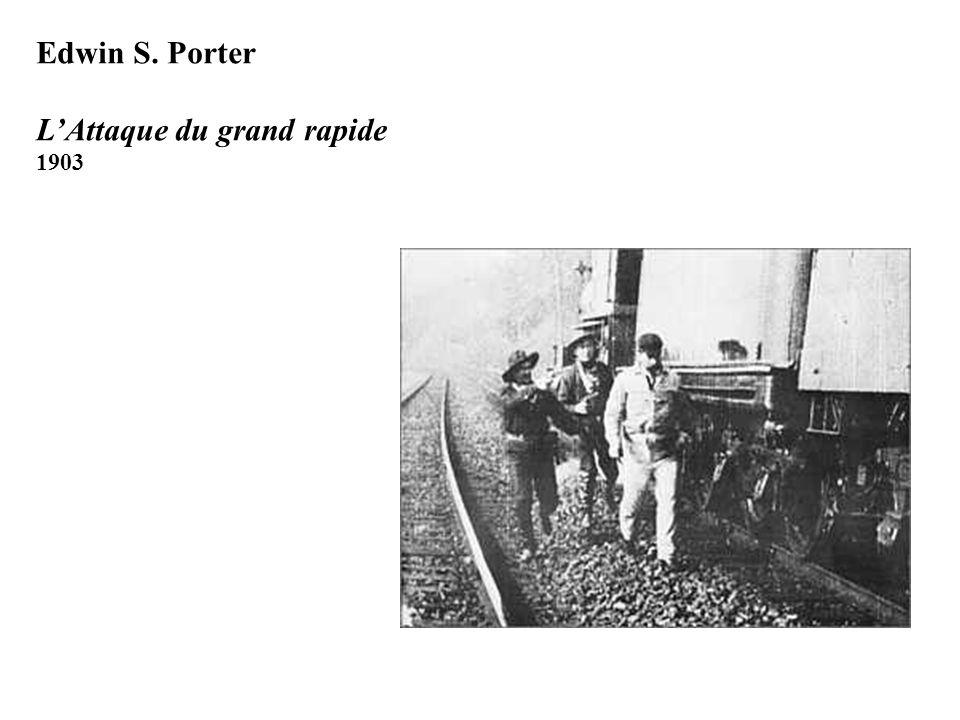 Edwin S. Porter LAttaque du grand rapide 1903