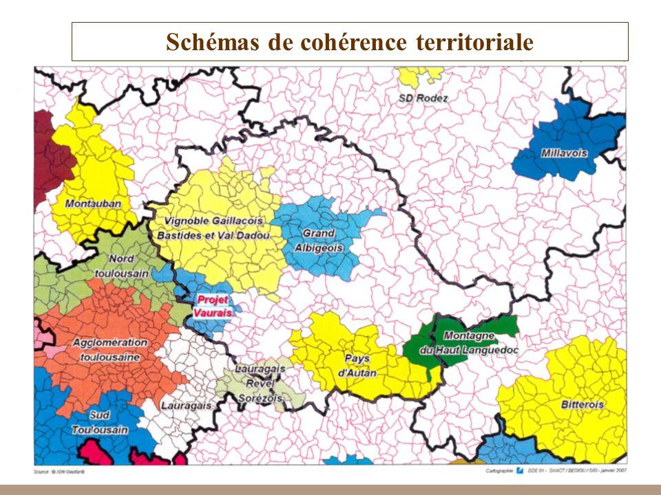 27 Schémas de cohérence territoriale