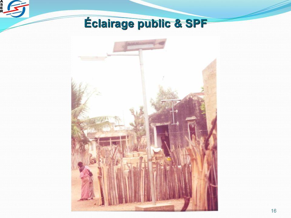 16 Éclairage public & SPF