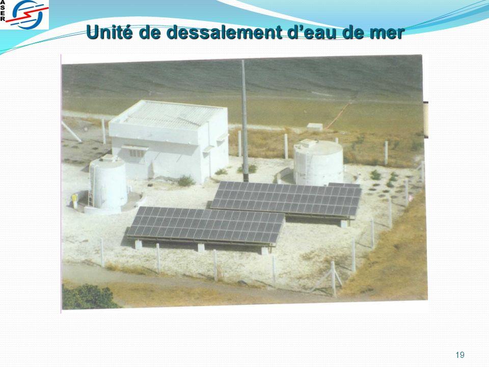 19 Unité de dessalement deau de mer