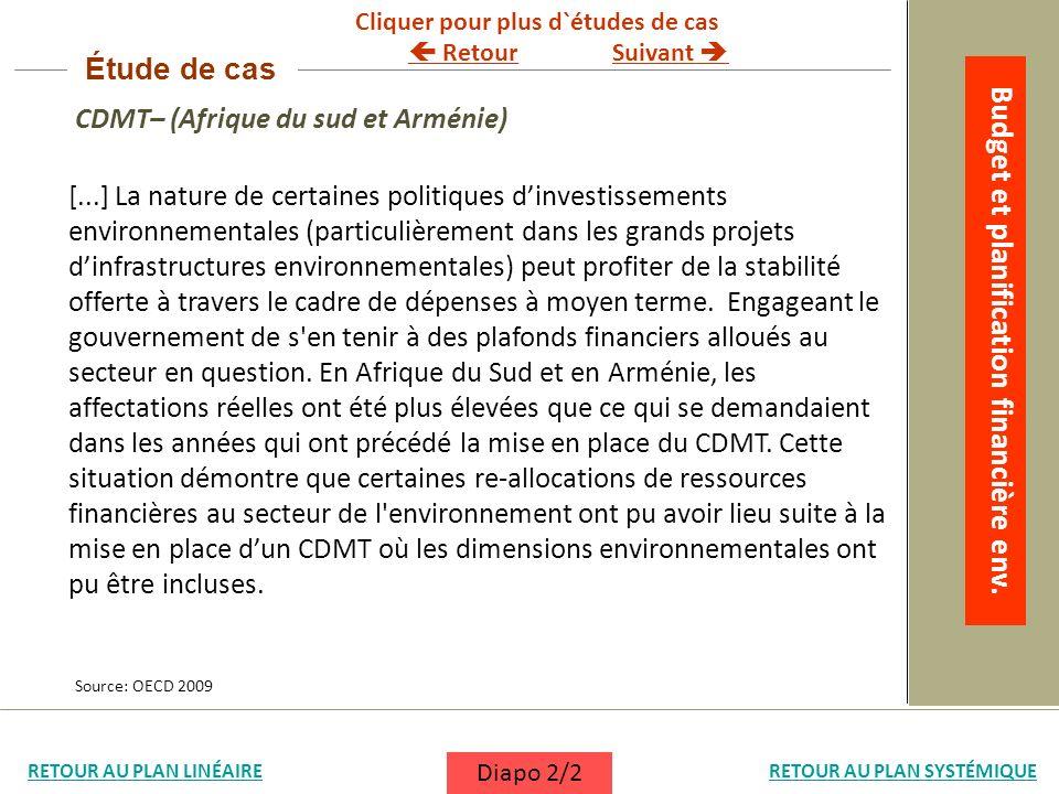 [...] La nature de certaines politiques dinvestissements environnementales (particulièrement dans les grands projets dinfrastructures environnementale