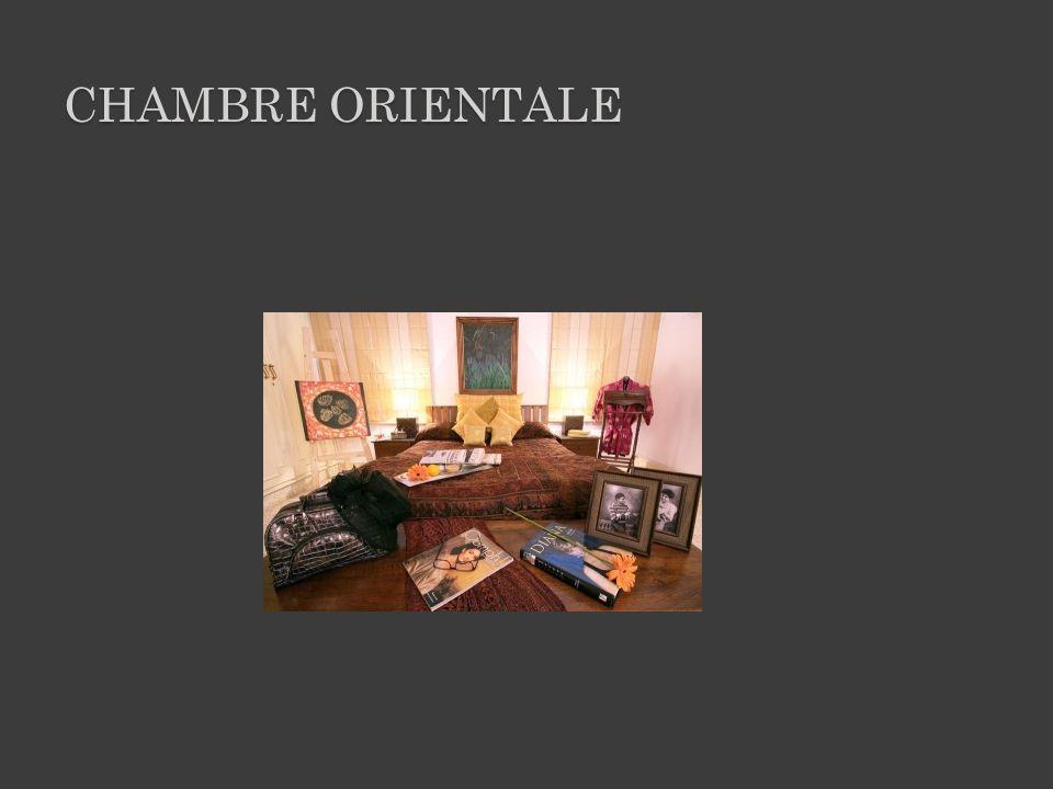 CHAMBRE ORIENTALE