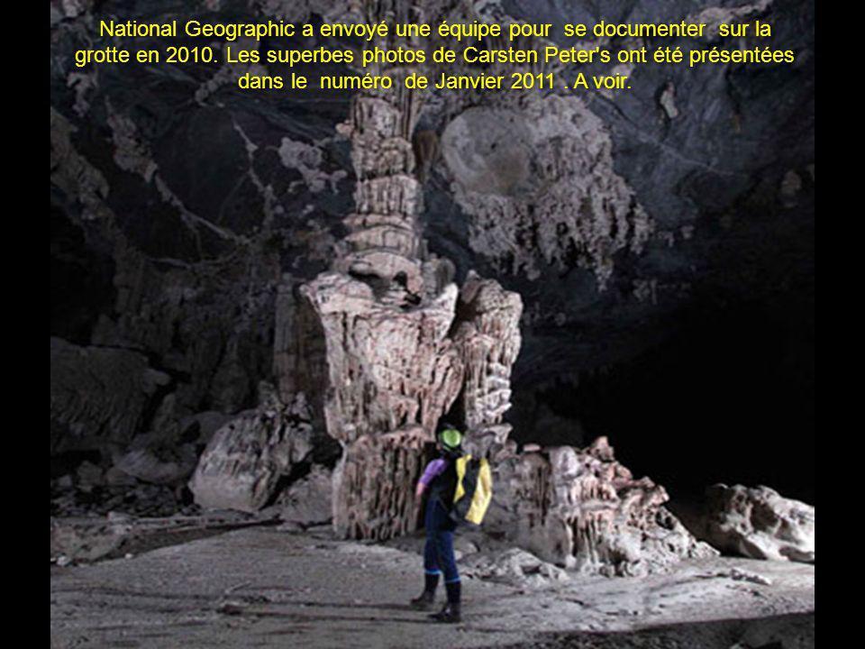 La grotte est considérée comme la plus grande du monde. Une de ses cavernes pourrait contenir un bloc de gratte-ciel de New York City! La grotte possè