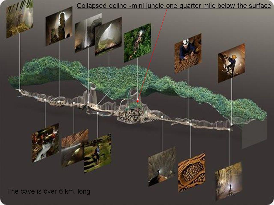 La grotte, n'avait jamais été sondée avant par quiconque, y compris les personnes de la jungle locale parce que l entrée est petite par rapport aux au