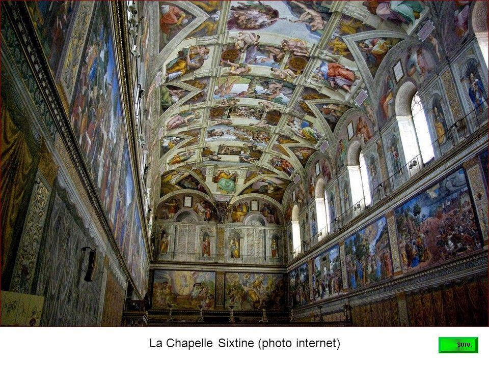 Une des merveilleuses fresques dans la Chambre de Raphaël