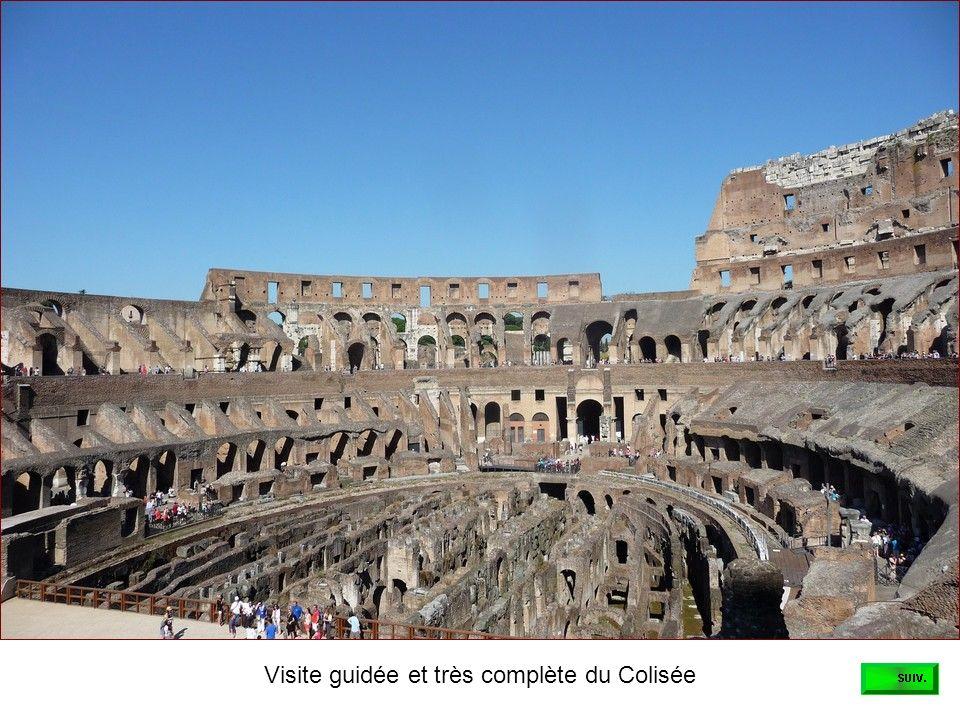 Visite guidée et très complète du Colisée
