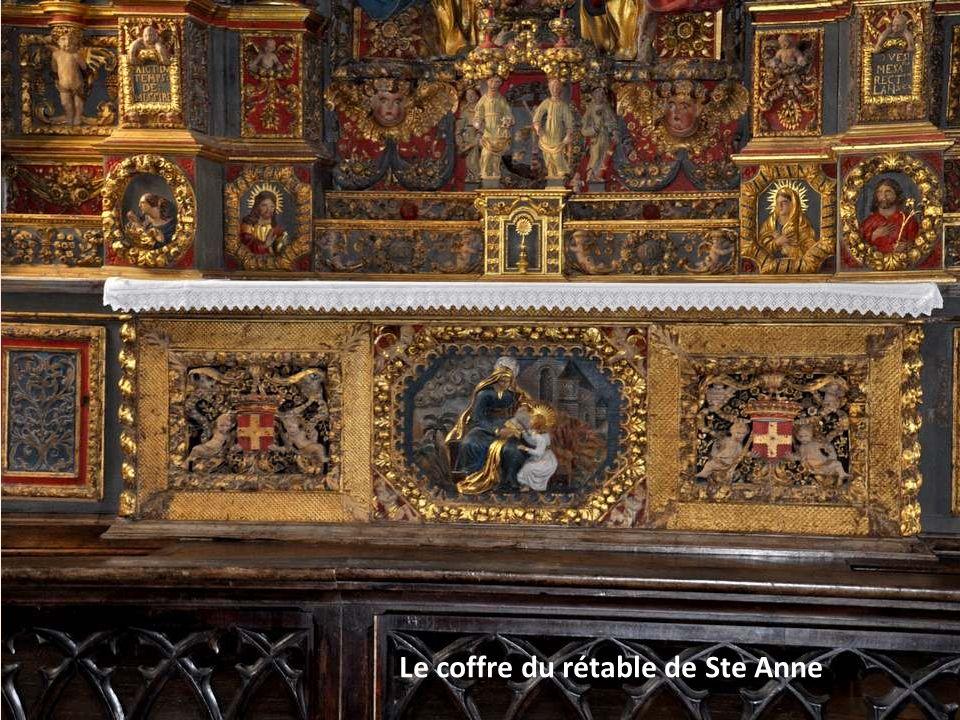 Le retable de Sainte Anne