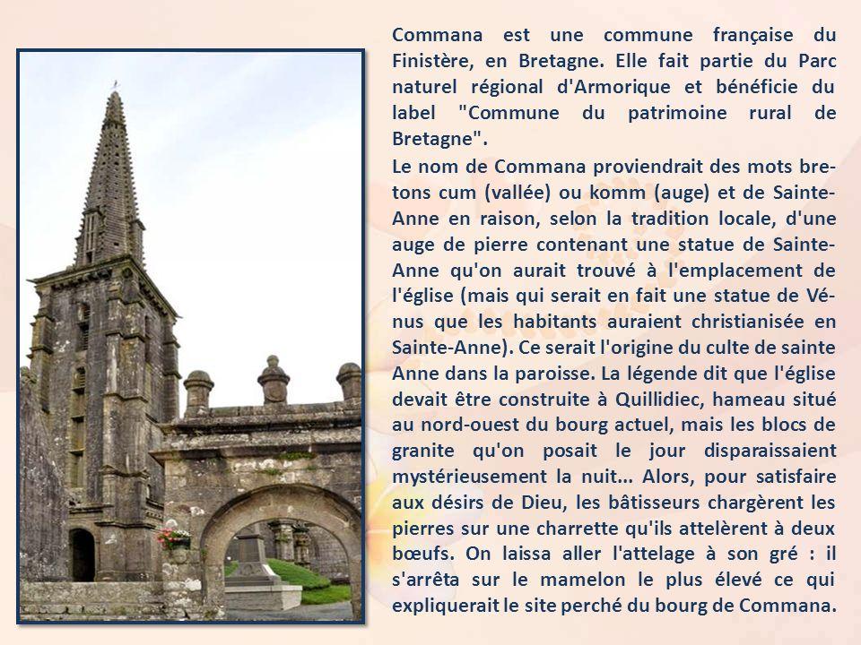 Commana est une commune française du Finistère, en Bretagne.