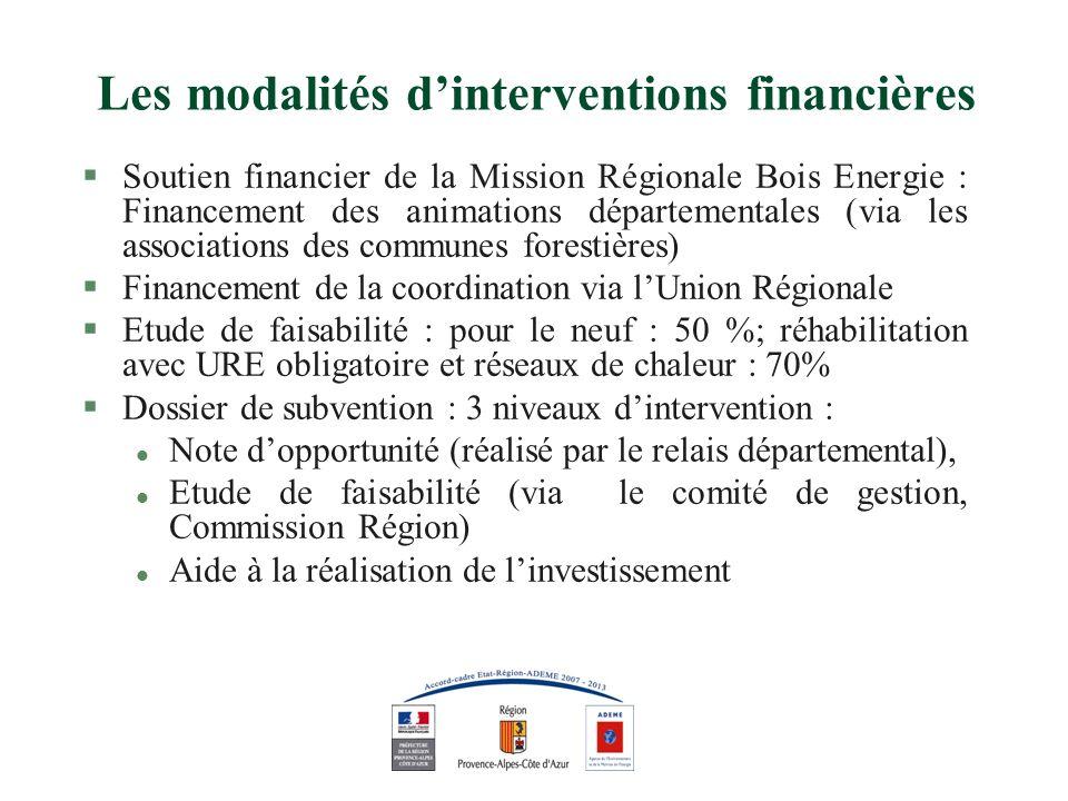 Aides à linvestissement §Matériels : les matériels bois énergie devront être constitués par des matériels couverts par les normes en vigueur.