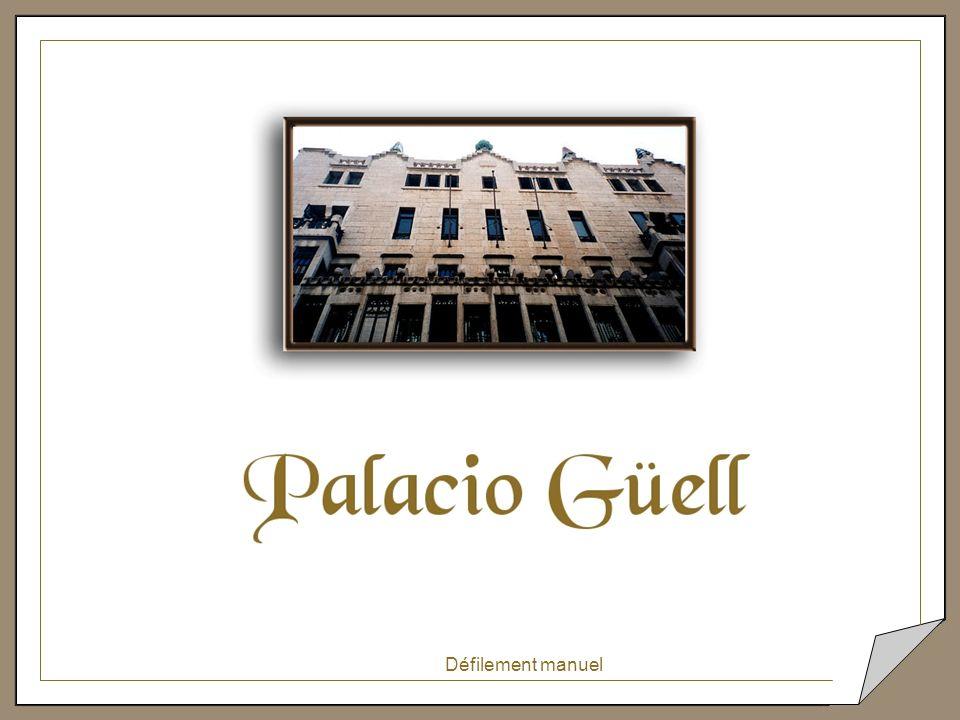 Dans le toit-terrasse du Palais Güell, ce fonctionnaire a fait intervenir lors des travaux de restauration, des artistes contemporains détruisant l oeuvre originale de Gaudi.