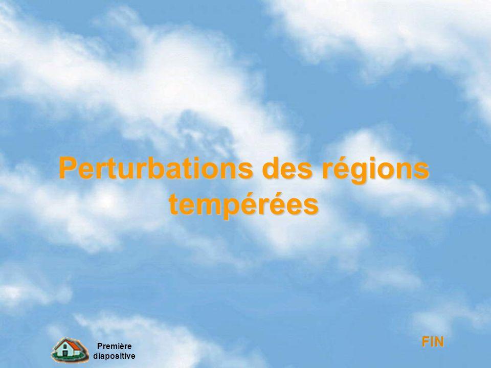 Perturbations des régions tempérées Perturbations des régions tempérées FIN Première diapositive