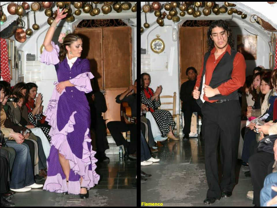 Flamenco is a combination of dance, guitar, and a unique characteristic form of singing.