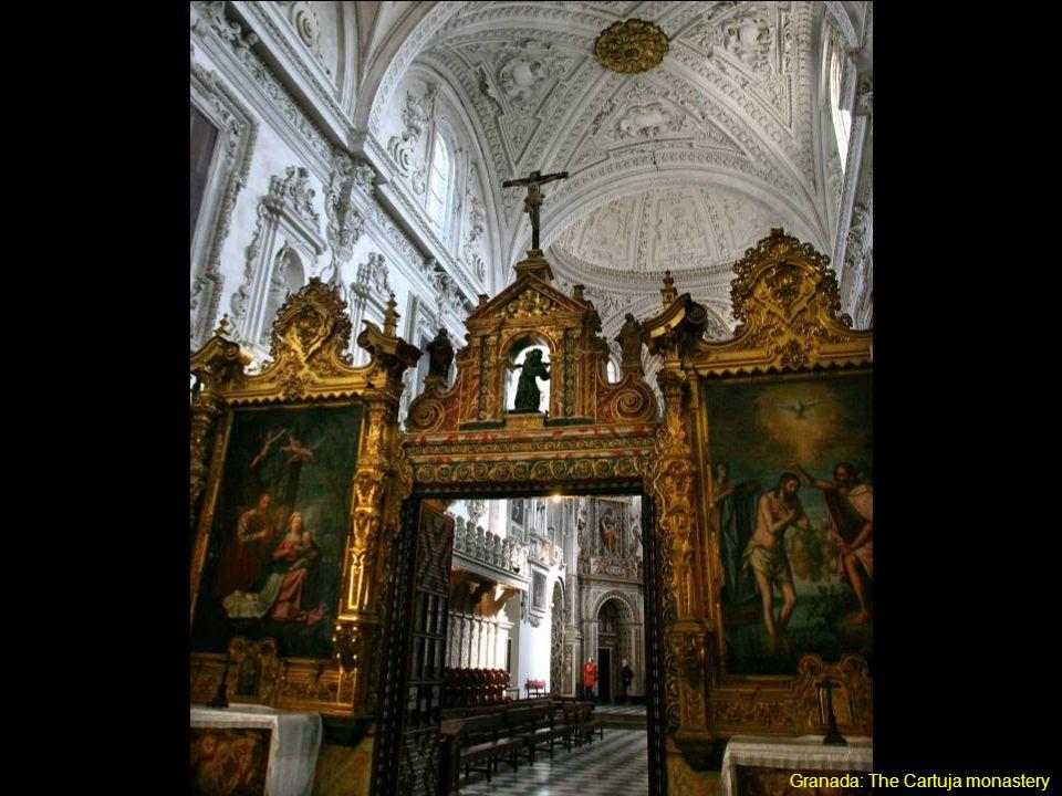 Granada: The Cartuja monastery / Grenade : le monastère de la Cartuja