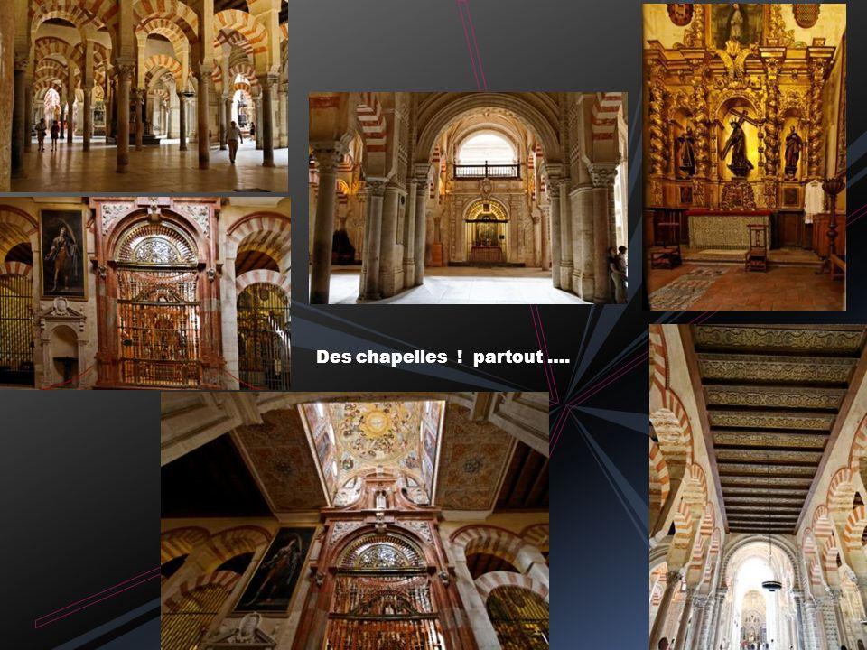 Nefs de la mosquée primitive d ABD AL-RAHMAN I La plus grande mosquée du monde après celle de La Mecque