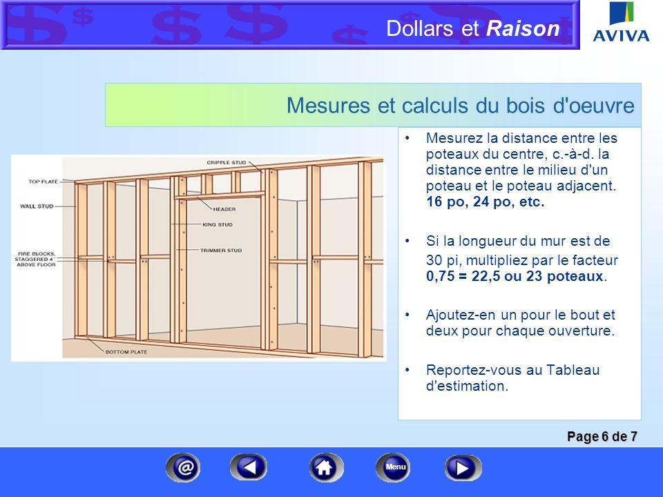 Dollars et Raison Menu Autre méthode de mesure d'un toit Théorème de Pythagore Dans un triangle à angle droit, le carré de l'hypoténuse (l'arbalétrier