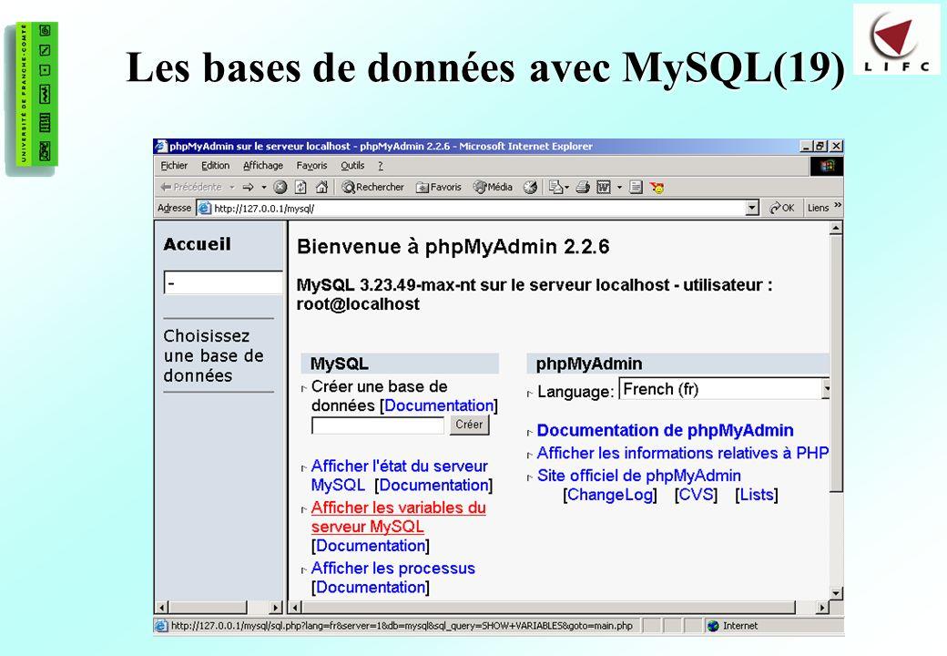 167 Les bases de données avec MySQL(19)