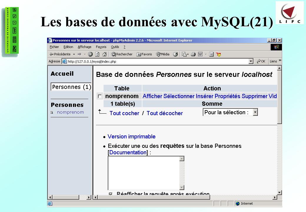 169 Les bases de données avec MySQL(21)