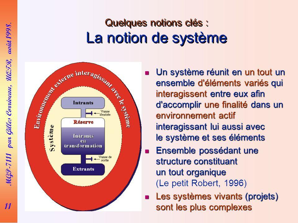 11 MGP-7111 par Gilles Corriveau, UQTR, août 1998.