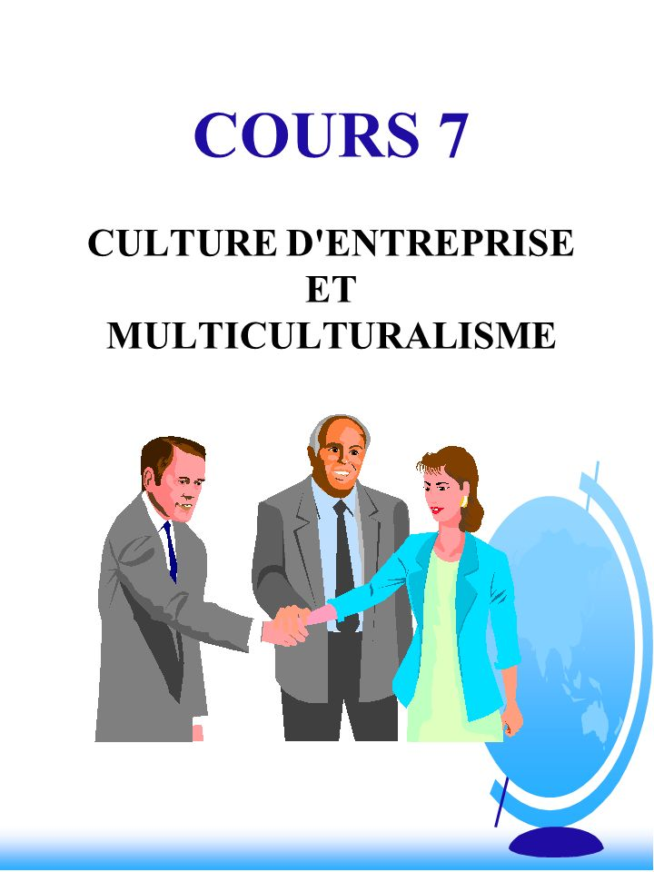 CULTURE & MANAGEMENT F Centralisation - décentralisation –décisions par la haute direction ou décisions diffuses F Aversion au risque .