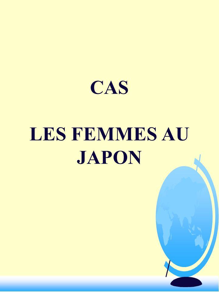 CAS LES FEMMES AU JAPON