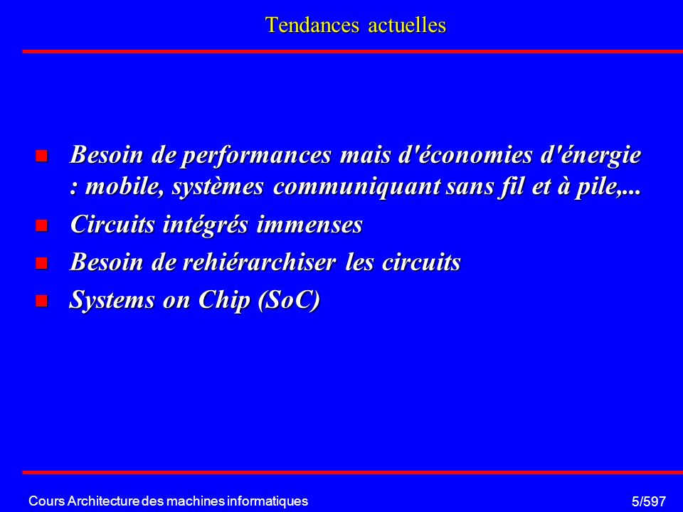 Cours Architecture des machines informatiques 36/597 Structure interne: Floating Point Unit étage réduction étage calcul étage normalisation H