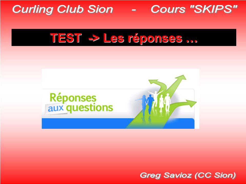 TEST -> Les réponses …