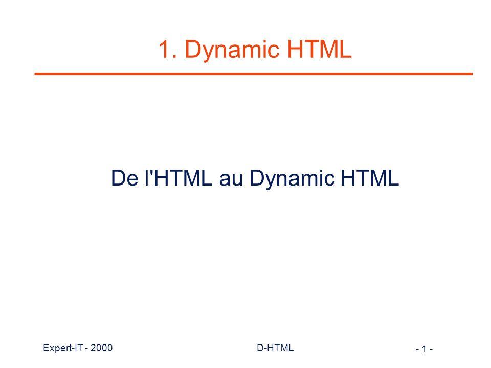- 142 - Expert-IT - 2000D-HTML Exemple de boîtes (3)