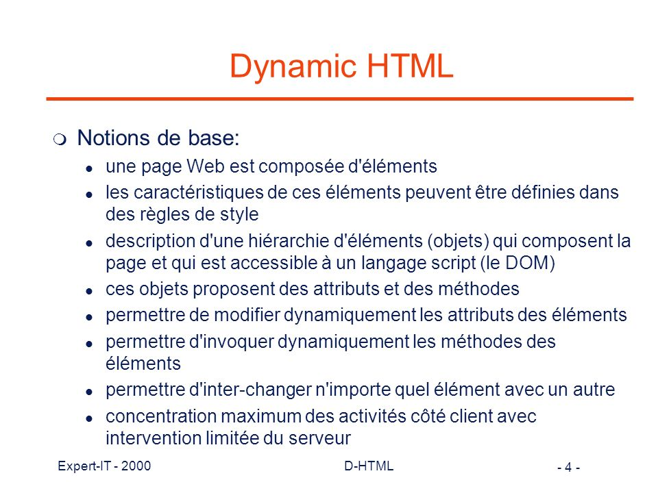 - 175 - Expert-IT - 2000D-HTML Bibliographie (3) m Java in a nutshell David Flanagan O Reilly 1-56592-183-6 m The XML Handbook Goldfarb & Prescod Prentice Hall 0-13-081152-1 m HTML The definitive guide Musciano & Kennedy O Reilly 1-56592-235-2 m Javascript The definitive guide David Flanagan O Reilly 1-56592-234-4 m Style Sheets for HTML and XML Frank Boumphrey WROX 1-861001-65-7 m Visual J++ P.Winters, D Olhaso et al.