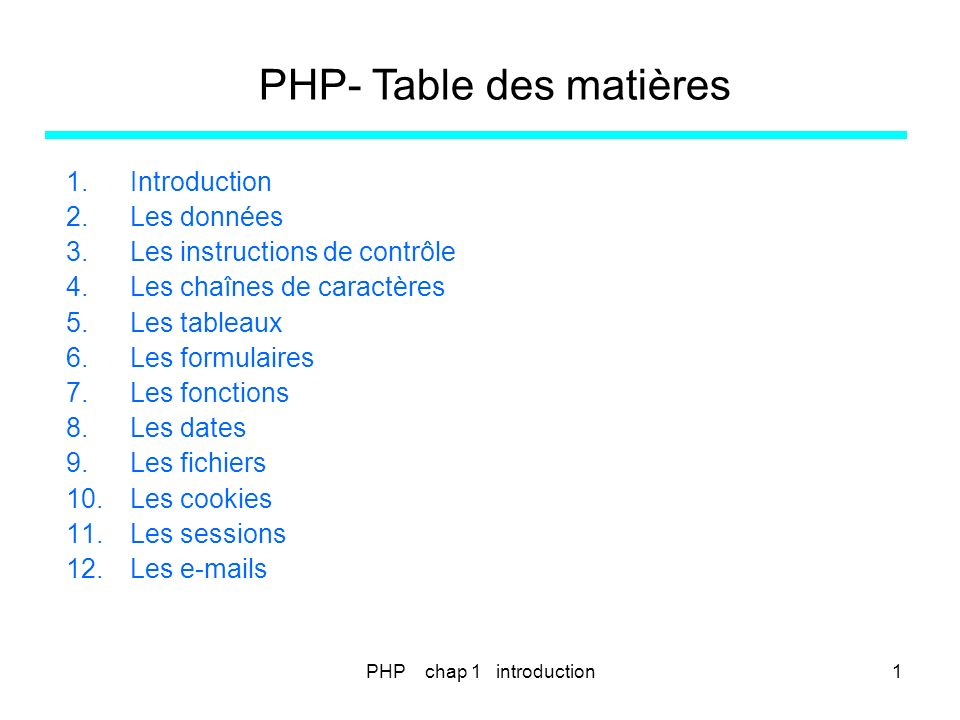 PHP chap 11 - les fichiers172 PHP – FICHIERS.4.