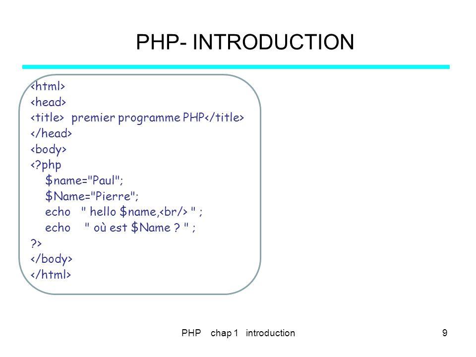 PHP chap 12-1 - les cookies180 PHP – COOKIES.