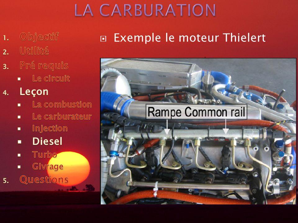 Exemple le moteur Thielert