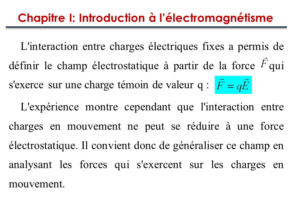 Loi de Faraday « La force électromotrice induite dans un circuit fermé est proportionnelle au taux de variation du flux du champ magnétique traversant la surface délimitée par le circuit par rapport au temps »