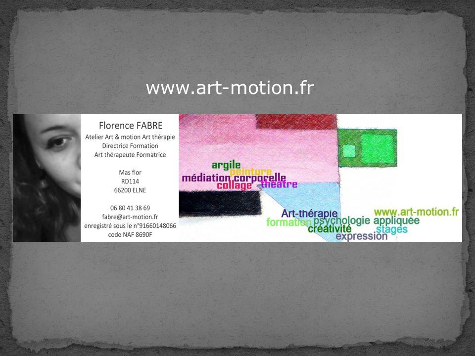 Art & Motion est un espace dArt thérapie où L art et la motion sont au service de l émotion.
