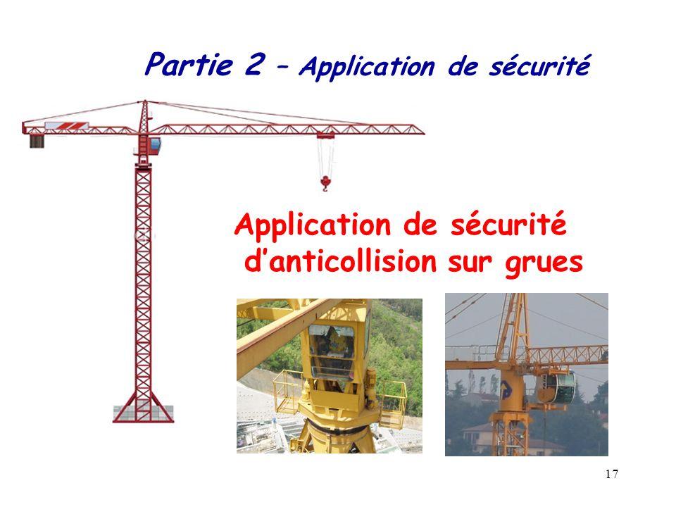17 Application de sécurité danticollision sur grues Partie 2 – Application de sécurité
