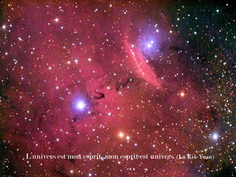 Lunivers est mon esprit, mon esprit est univers. (Lu Kiu-Yuan)