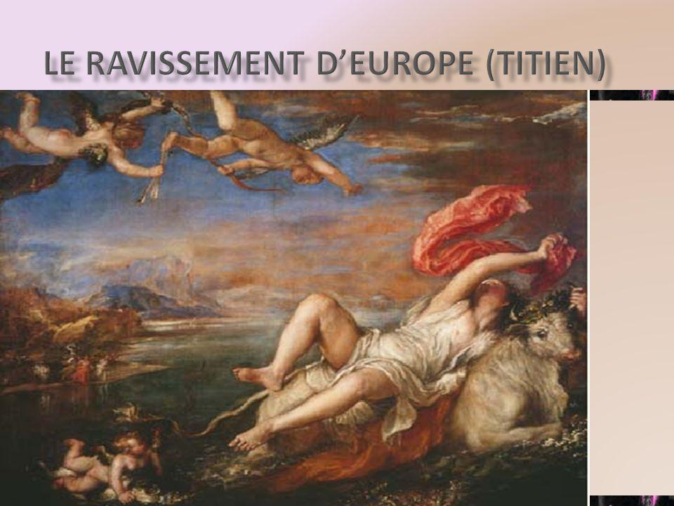 LE RAVISSEMENT DEUROPE (TITIEN)