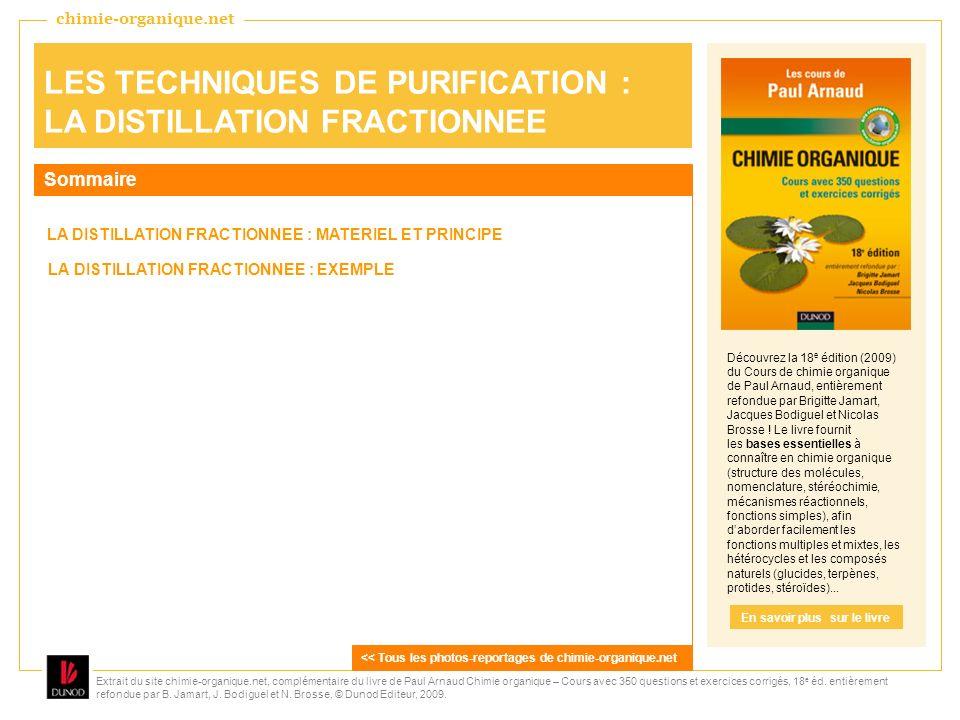 Extrait du site chimie-organique.net, complémentaire du livre de Paul Arnaud Chimie organique – Cours avec 350 questions et exercices corrigés, 18 e éd.