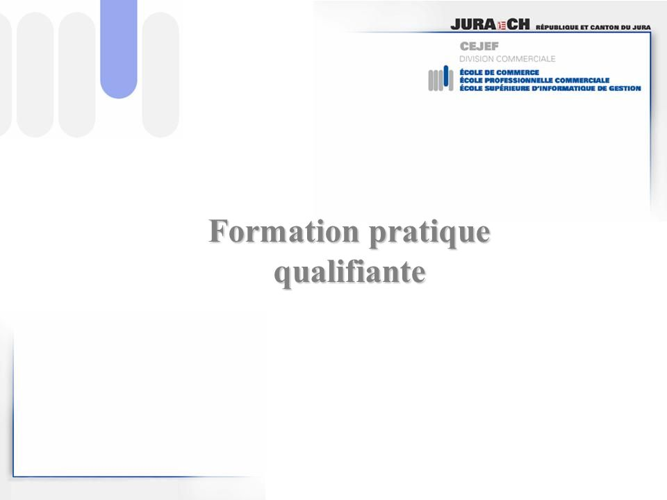 Formation pratique qualifiante