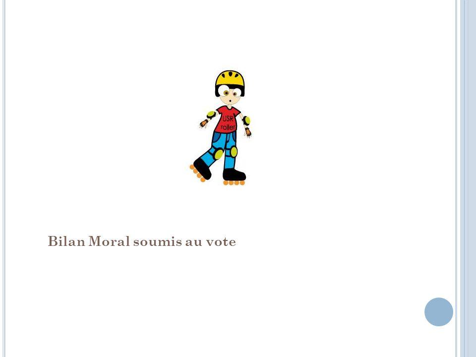 Bilan Moral soumis au vote