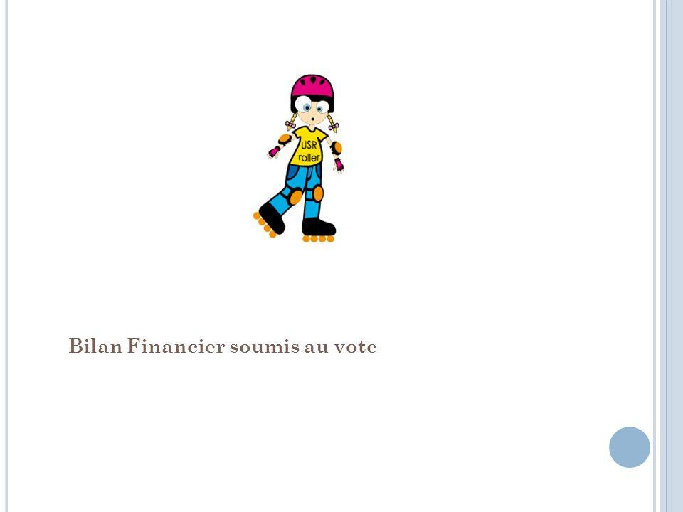 Bilan Financier soumis au vote