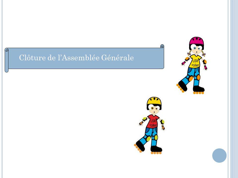 Clôture de lAssemblée Générale