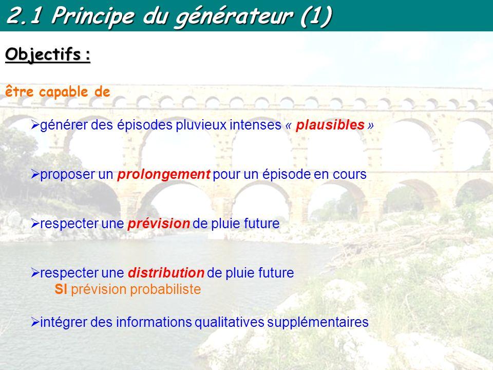 4 Gardon dAnduze: 6-8/09/2005 (1) Quelques chiffres 250mm le 6 – Crue vicennale (T retour ~ 20ans) à Montpellier 230mm dans l après-midi du 6 et 200mm le 8 à Nîmes Prévisions de précipitations disponibles Quantitatives dispose: Quantitatives Analogues Qualitatives suppose: Qualitatives Début/Arrêt des pluies Pic de crue du 06/09/2005 Le 5 à 18h TU (20h locale): le quantile Q 90% annonce une montée de débit dans l après-midi du 6 Echéance suffisante 30h