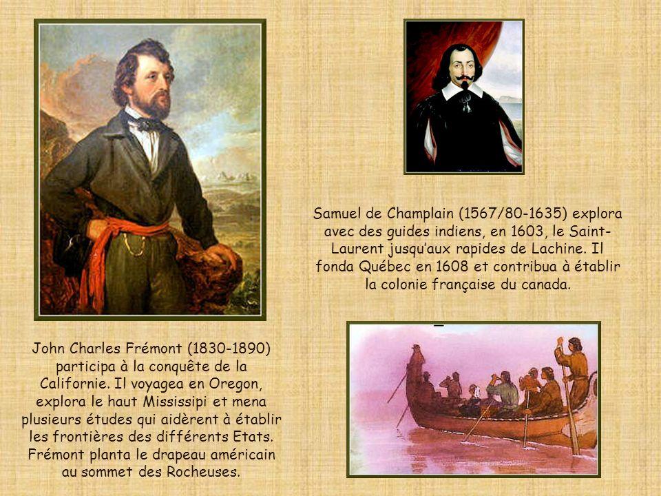 Beaucoup dexplorateurs, comme Jacques Cartier, voulaient faire fortune.