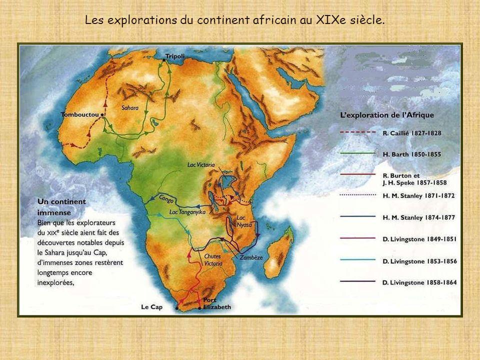 Au XVIIIe siècle, lAfrique restait un vaste et mystérieux continent.