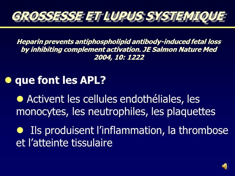 Syndrome des anti-phospholipides Défini par lassociation dau moins une des manifestations cliniques et au moins une des manifestations biologiques sui