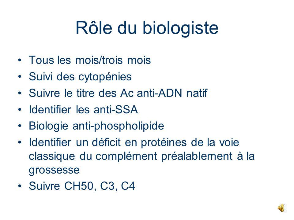 Comment ont-ils ces effets ? lactivation du complément est essentielle à la survenue des FC voie classique du complément: C3, C3a, C5a puis cellules i