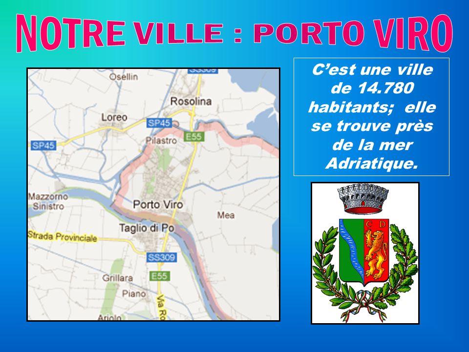 Cest une ville de 14.780 habitants; elle se trouve près de la mer Adriatique.