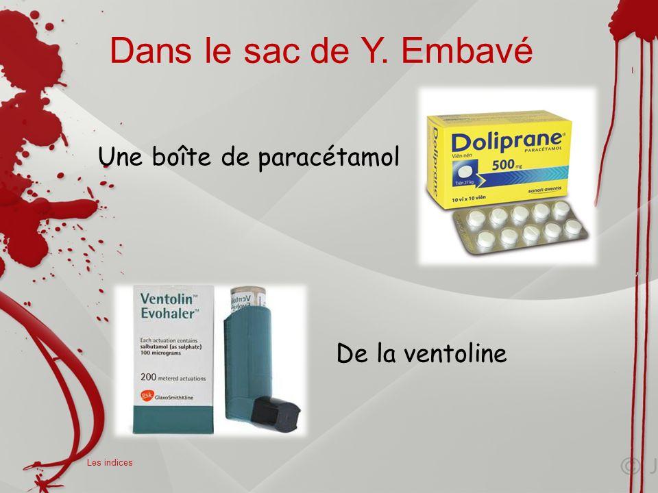 Les analyses Elèves de seconde du laboratoire Henri Avril de Lamballe, vous devez réaliser les protocoles et les expériences afin de faire parler les indices et de résoudre lenquête.