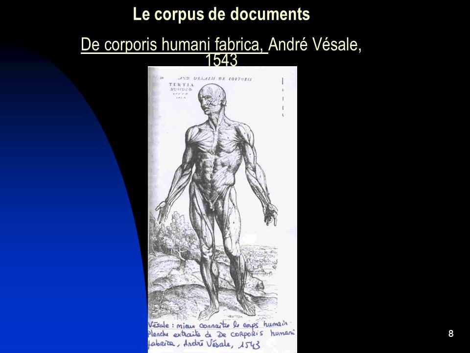 9 Le document de synthèse LHomme mesure de toute chose, Léonard de Vinci, 1485