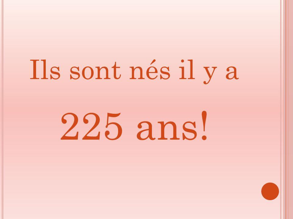Ils sont nés il y a 225 ans!